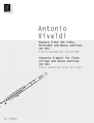Vivaldi, A: Vivaldi Concerto Dmaj Fl Pft.red Rv 783