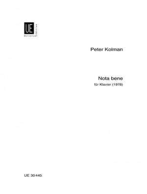 Kolman, P: Kolman Nota Bene