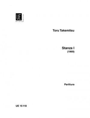 Takemitsu, T: Takemitsu Stanza No.1 Vce Inst