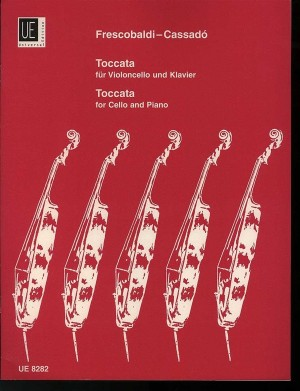 Frescobaldi, G: Frescobaldi/cassado Toccata Vc Pft