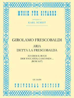 Frescobaldi, G: Aria detta la Frescobalda
