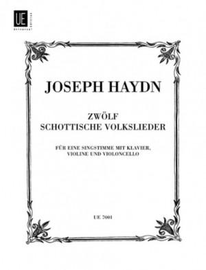 Haydn, J: Haydn 12 Scot Folksongs Vce Pft Vln & Vc