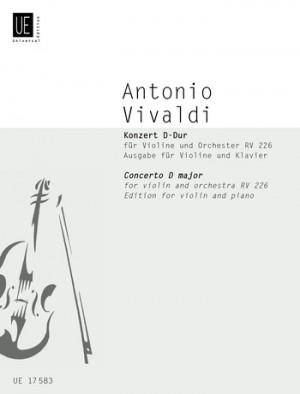 Vivaldi, A: Vivaldi Concerto Dmaj Vln Pft.red Fanna I/129 Rv 226