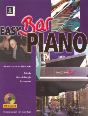 Easy Bar Piano - Ballade, Blues & Boogie, Stridepiano with mit CD