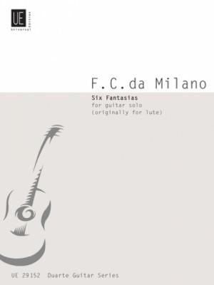 Milano, F C d: Milano Six Fantasias Gtr