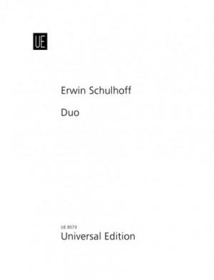 Schulhoff, E: Schulhoff Duo Vln Vc Parts