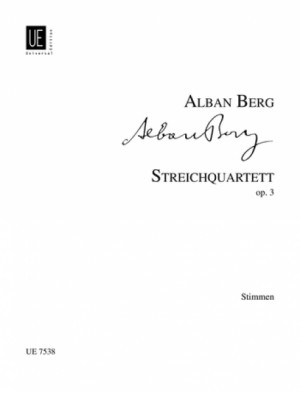 Berg, A: String Quartet op.3