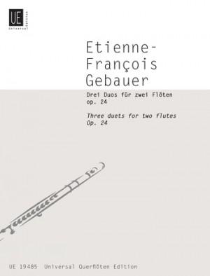 Gebauer, F R: Gebauer Three Duets Op24 2fl Op. 24