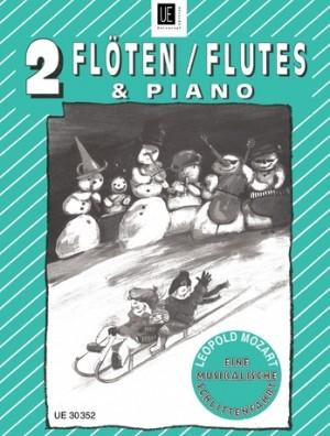Mozart, L: Mozart Musical Sleigh Ride 2fl Pft