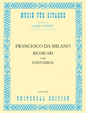 Milano, F C d: Milano Ricercari & Fantasien S Gtr