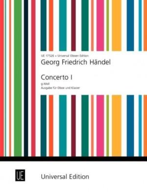 Handel, G F: Handel Konzert No.1 Gmin Ob Pft