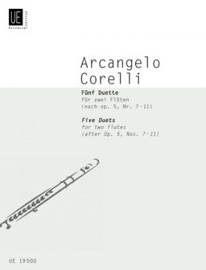 Corelli, A: Corelli 5 Duets 2flts Op. 5, Nr. 7-11
