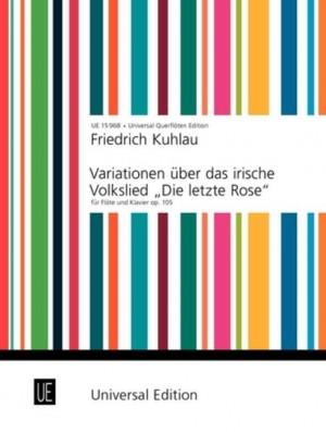 Kuhlau, F: Kuhlau Variationen Op105 Fl Pft Op. 105