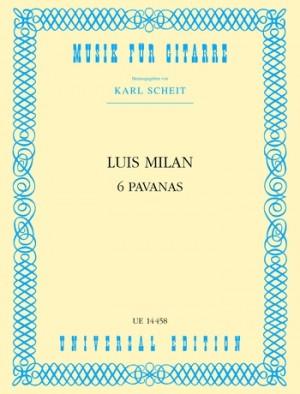 Milán, L d: Milan Sechs Pavanen S Gtr