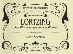 Lortzing, A: Der Waffenschmied von Worms oder Liebhaber und Nebenbuhler in einer Person