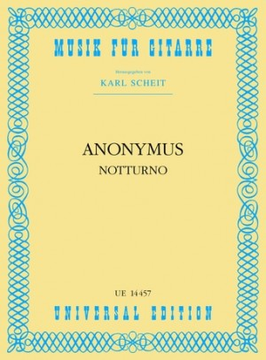 Anonymous: Anon Notturno Gtr