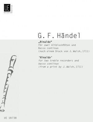 Handel, G F: Handel Rinaldo 2tre.rec Bc