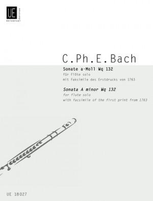 Bach, C P E: Bach Cpe Sonate Amin S.flute Wq. 132