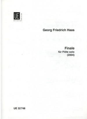 Haas, G F: Finale