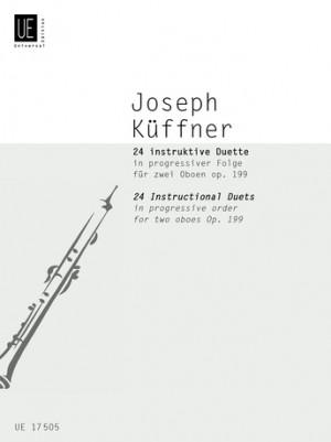 Kueffner, J: Kueffner 24 Duets Op199 2ob Op. 199