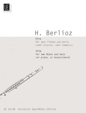 Berlioz, H: Berlioz Trio 2 Fl Harp(or Pft Cemb)