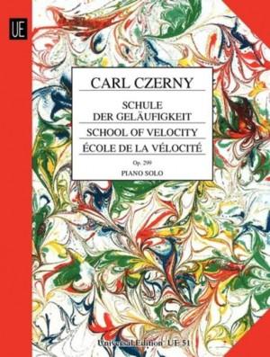 Czerny, C: School of Velocity op. 299