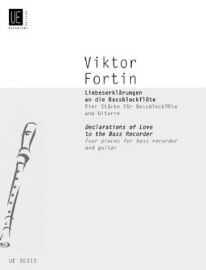 Fortin, V: Fortin Declarations Love Bass.rec Gtr