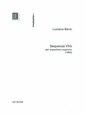 Berio, L: Sequenza VIIb for soprano saxophone