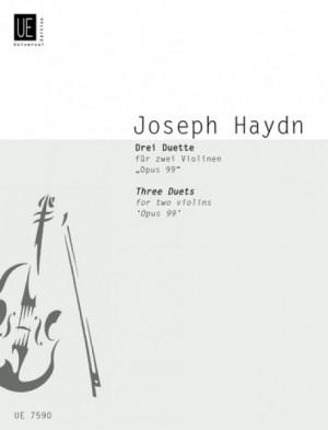 Haydn, J: Haydn Three Duets Op99 2vln Op. 99 Hob.iii:40, 20, 23
