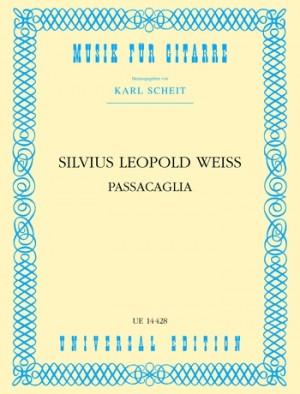 Weiss, S L: Weiss Passacaglia S.gtr