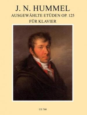 Hummel, J N: Etudes Op.125