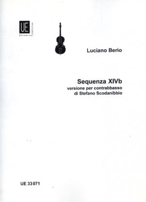 Berio, L: Sequenza XIVb for double bass