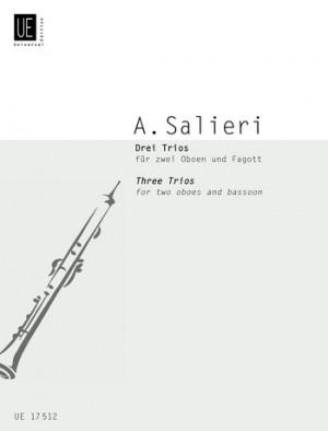 Salieri, A: Salieri Three Trios 2ob Bsn