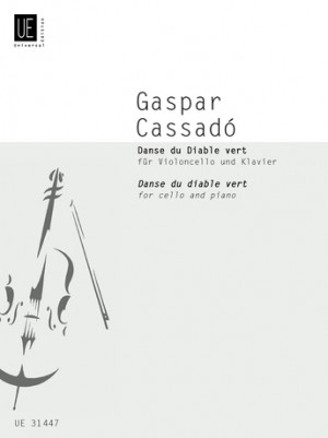 Cassadó, G: Cassado Danse Diable Vc Pft