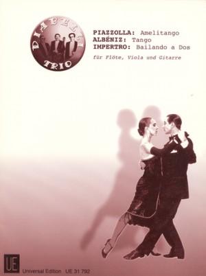 Piazzolla: Amelitango; Albéniz: Tango; Impertro: Bailando a Dos
