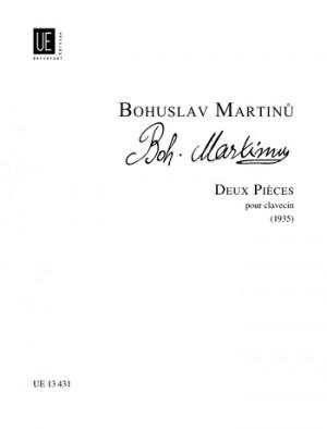 Martinu, B: Martinu Deux Pieces Cemb