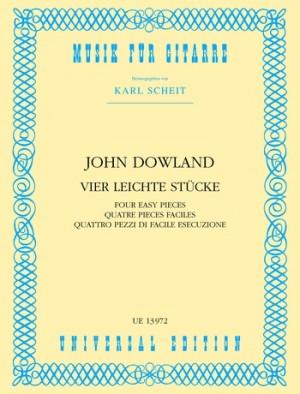 Dowland, J: 4 Easy Pieces