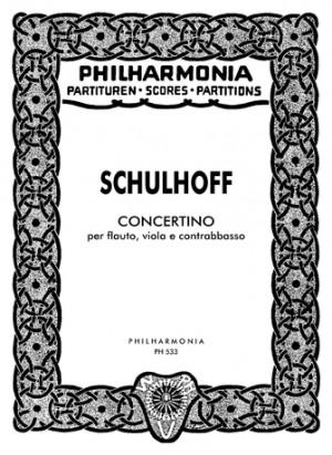 Schulhoff, E: Concertino
