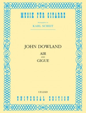 Dowland, J: Air and Gigue