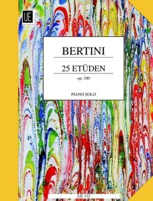 Bertini, H: 25 Etuden Op.100
