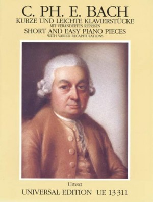 Bach, C P E: Short and Easy Pieces with Varied Recapitulations