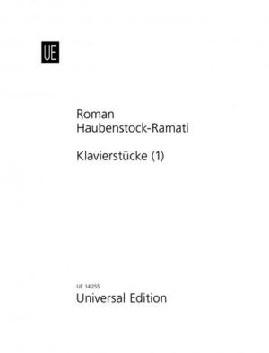 Haubenstock-Ramati, R: Haubenstock-ramati Klavierstuck No.1