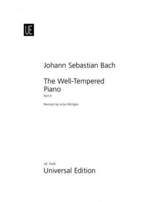 Bach, J S: Bach Js Well Tempered Klavier Vol2 S Pft Band 2