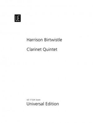 Birtwistle: Quintet Cl Str.quartet Score