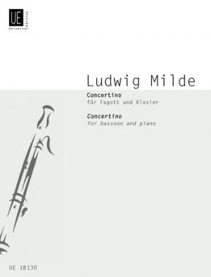 Milde, L: Mulde Concertino Bsn Pft