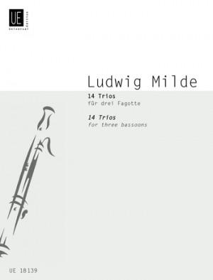 Milde, L: Milde 14 Trios 3bsn Score & Parts