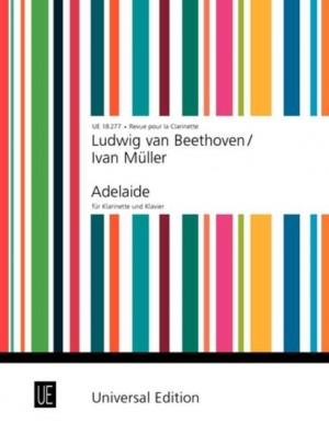 Beethoven, L v: Beethoven-mueller Adelaide Clar Pft