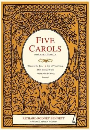 Bennett, R R: 5 Carols