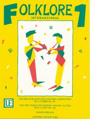 Roelcke, C: Roelke Folklore International I Rec Pft Band 1