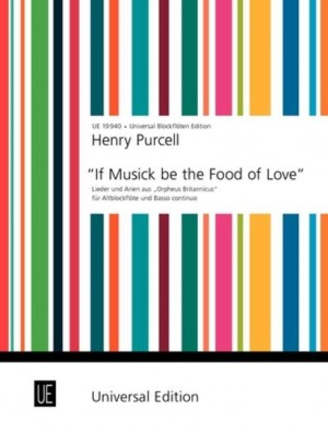 Purcell, H: Purcell If Music Be The Food Tre.rec Pft